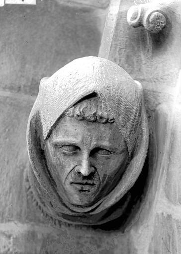 Cathédrale Notre-Dame Tête d'amortissement, bras sud du transept, Lajoie, Abel,