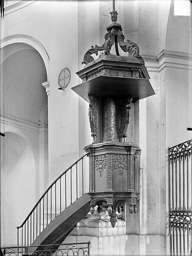 Hospice Sainte-Anne (ancien) Chaire, Gossin (photographe),