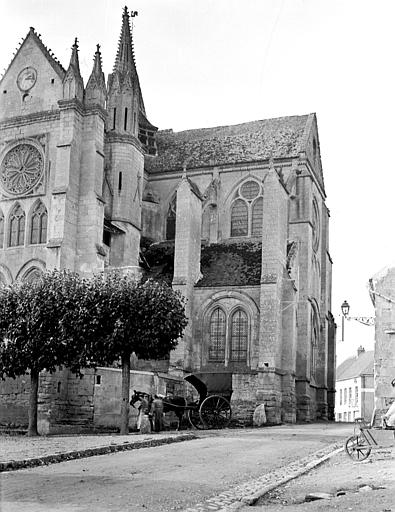 Eglise Saint-Lucien Angle sud-est, Chaine, Henri (architecte),