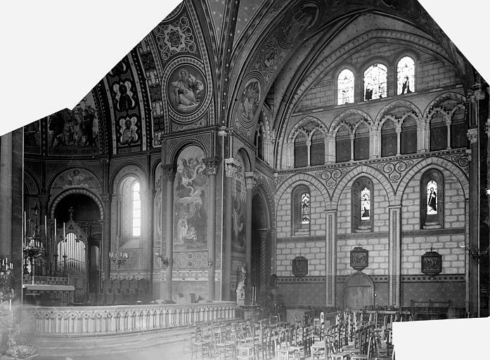 Cathédrale Saint-Caprais Vue intérieure du choeur et du transept sud, Mieusement, Médéric (photographe),