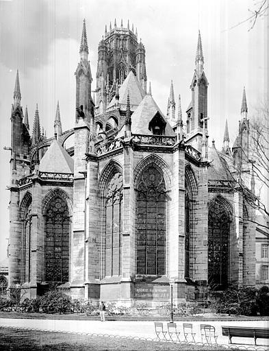 Eglise Saint-Ouen Ensemble est, Durand, Jean-Eugène (photographe),