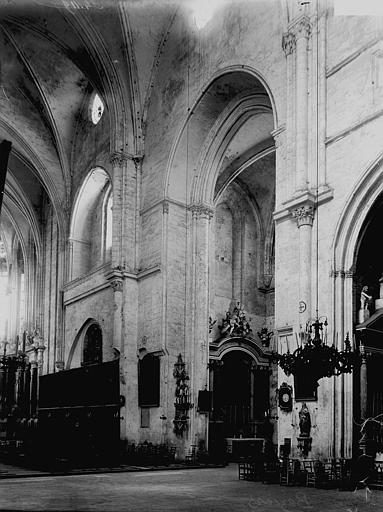 Cathédrale Saint-Nazaire Croisée du transept, Enlart, Camille (historien),