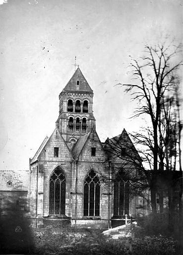 Eglise de Nogent-les-Vierges Abside, Durand, Eugène (photographe),