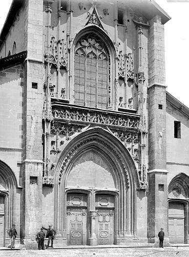 Cathédrale Saint-François-de-Sales Façade ouest : partie centrale, Mieusement, Médéric (photographe),