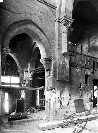 Abbaye Notre-Dame (ancienne) Bas-côté sud, Robert, Paul (photographe),