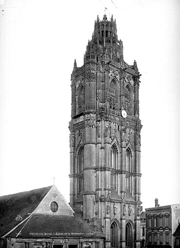 Eglise de la Madeleine Clocher, Durand, Eugène (photographe),