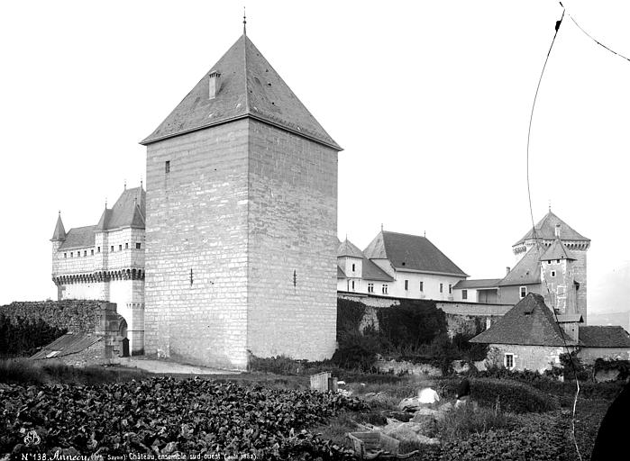 Château Ensemble sud-ouest, Mieusement, Médéric (photographe),