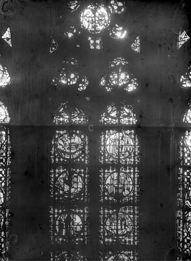 Cathédrale Notre-Dame Chapelles du choeur, vitrail C', Gaudin,