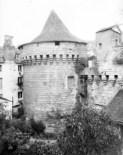 Remparts Tour au sud-ouest, Durand, Jean-Eugène (photographe),