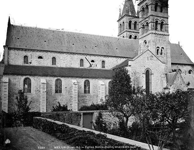 Eglise Notre-Dame Façade nord, Durand, Eugène (photographe),