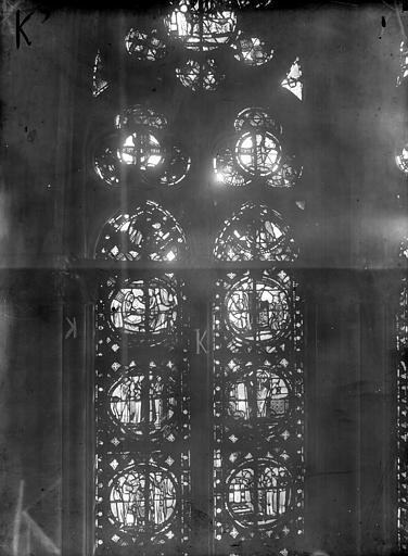 Cathédrale Notre-Dame Chapelles du choeur, vitrail K', Gaudin,