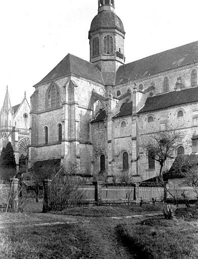 Eglise abbatiale Clocher et transept, Chaine, Henri (architecte),