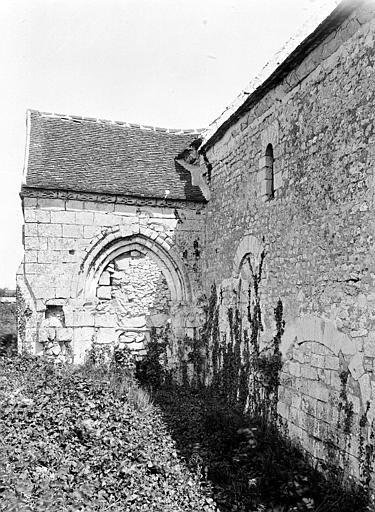 Eglise de Noël-Saint-Martin (ancienne) Transept et nef, au nord, Durand, Eugène (photographe),