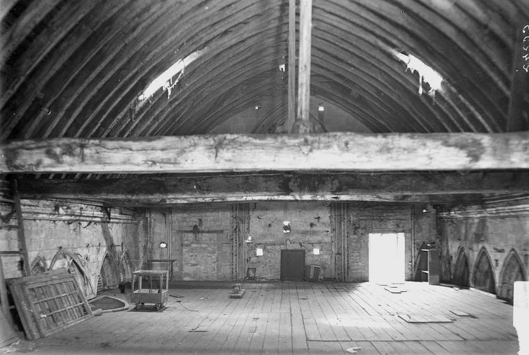 Abbaye aux Hommes (ancienne) Salle des Gardes, façade postérieure, Service photographique,