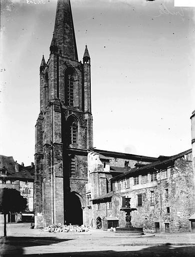 Cathédrale Saint-Martin Clocher, Enlart, Camille (historien),