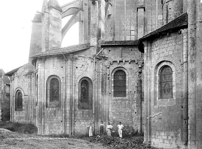 Eglise Saint-Jean de Montierneuf Abside, côté sud, Durand, Jean-Eugène (photographe),