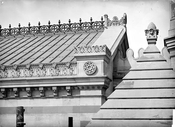 Cathédrale Sainte-Marie-Majeure Crête et entablement, Mieusement, Médéric (photographe),
