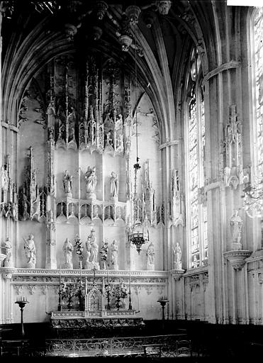 Cathédrale Notre-Dame Retable, Enlart, Camille (historien),