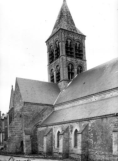 Eglise Façade latérale, Durand, Eugène (photographe),