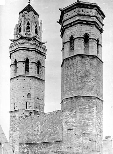 Eglise Saint-Vincent Clocher, Durand, Eugène (photographe),