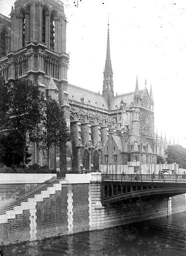 Cathédrale Notre-Dame Ensemble sud-ouest, Chaine, Henri (architecte),