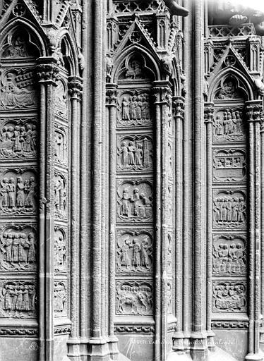 Cathédrale Notre-Dame Portail du transept sud dit de la Calende : ébrasement, Mieusement, Médéric (photographe),