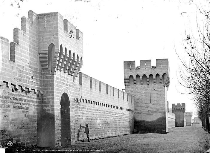 Remparts Côté est, état après restauration, Mieusement, Médéric (photographe),