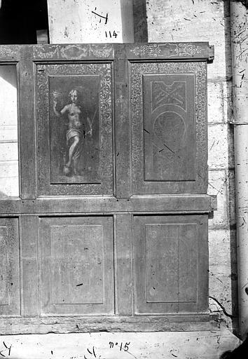 Palais de Justice Salle, boiseries du plafond, déposées, Delaunay (photographe), 21 ; Dijon ; Musée des Beaux-Arts (original déposé)