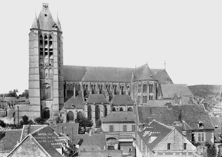 Eglise Notre-Dame/Cathédrale (ancienne) Ensemble sud, Durand, Eugène (photographe),