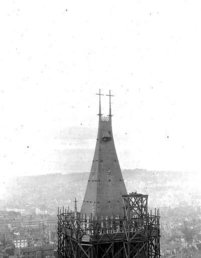 Cathédrale Partie haute, Chaine, Henri (architecte),