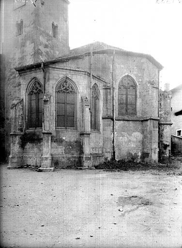 Eglise Abside et chapelle seigneuriale, Service photographique,