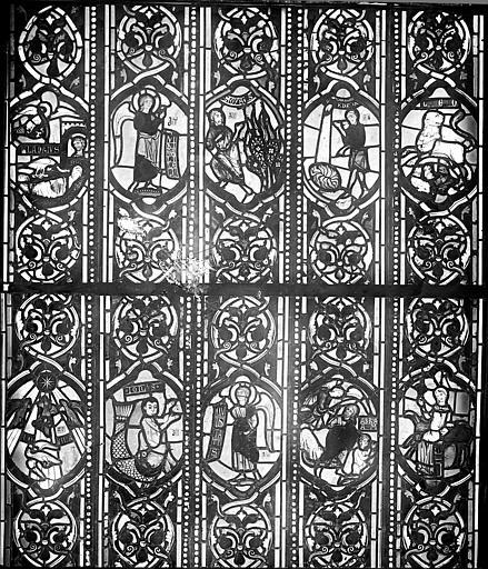 Cathédrale Saint-Jean Vitrail : Personnages de l'Ancien Testament, ,