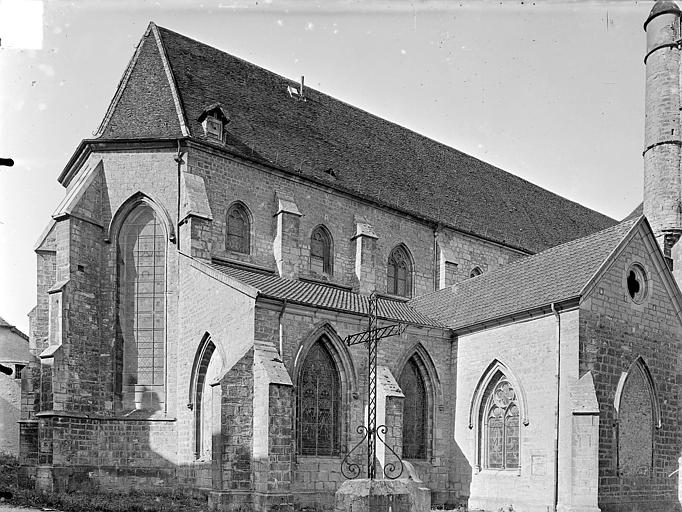 Eglise Saint-Hippolyte Angle nord-est, Gossin (photographe),