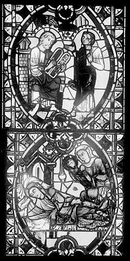Cathédrale Saint-Jean Vitrail : Vie de saint Jean-Baptiste, ,