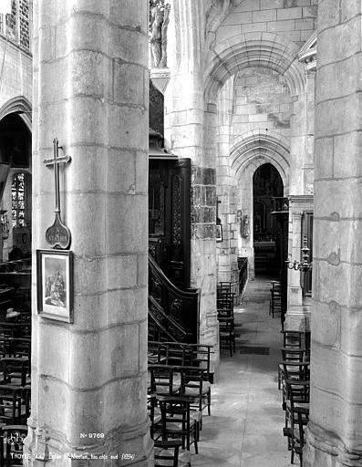 Eglise Saint-Nicolas Bas-côté sud, Robert, Paul (photographe),