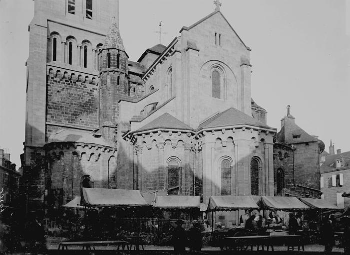 Collégiale Saint-Martin Abside, Enlart, Camille (historien),
