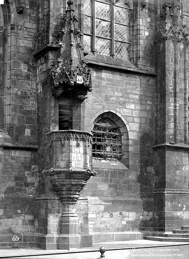 Eglise Chaire extérieure, Mieusement, Médéric (photographe),