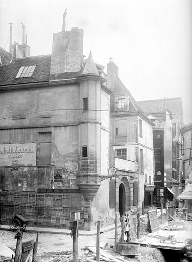 Hôtel Colbert (ancien) Tourelle, Durand, Eugène (photographe),
