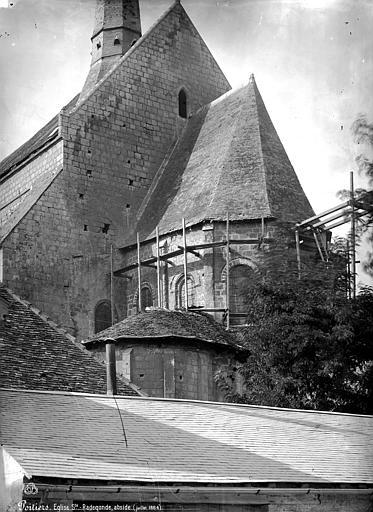 Eglise Sainte-Radegonde Abside, côté sud-est, Mieusement, Médéric (photographe),
