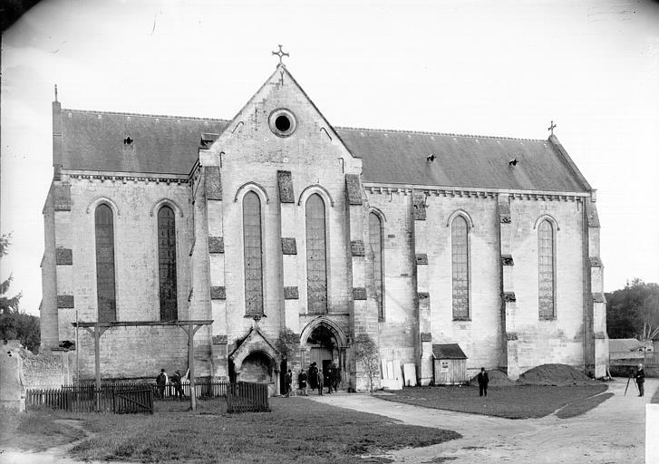 Eglise Ensemble nord, Enlart, Camille (historien),