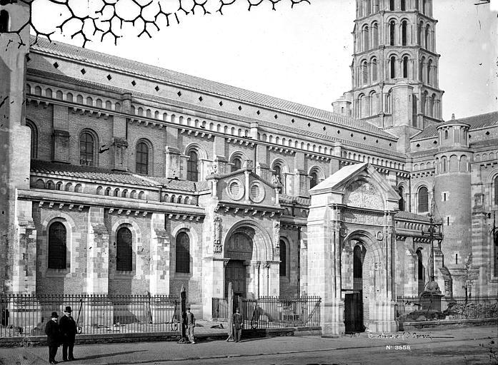 Eglise Saint-Sernin Façade sud, Mieusement, Médéric (photographe),