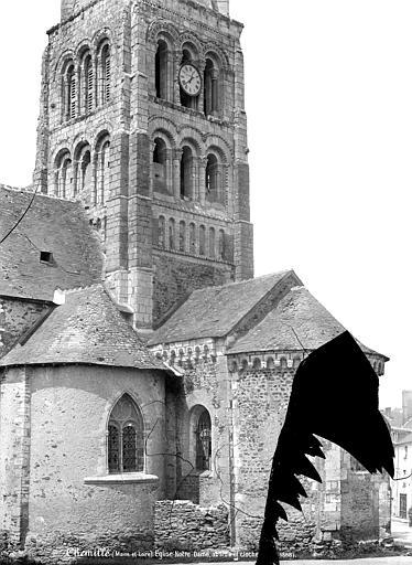 Eglise Notre-Dame Clocher et abside, côté sud-est, Mieusement, Médéric (photographe),