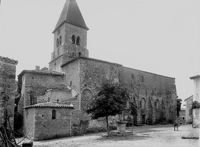 Eglise Saint-Julien Ensemble nord, Enlart, Camille (historien),