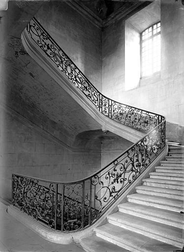 Abbaye aux Hommes (ancienne) 3ème escalier, Durand, Jean-Eugène (photographe),