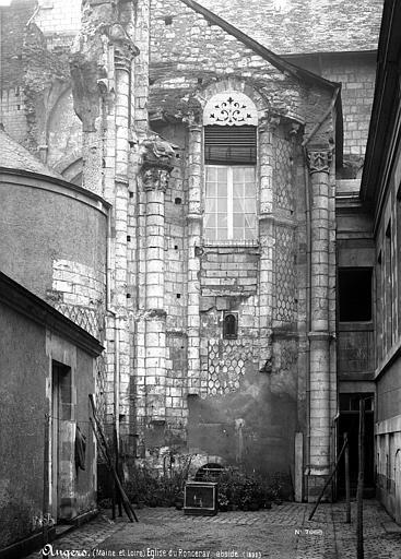 Abbaye du Ronceray (ancienne) Eglise, abside, Mieusement, Médéric (photographe),