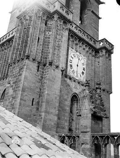 Cathédrale Saint-Nazaire (ancienne) Clocher, partie inférieure, ,