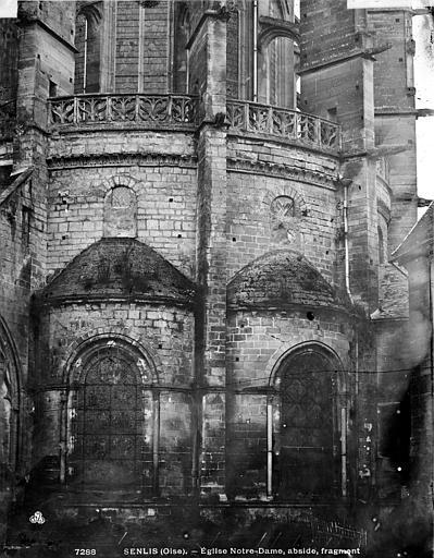 Cathédrale (ancienne) Abside partie, Durand, Eugène (photographe),