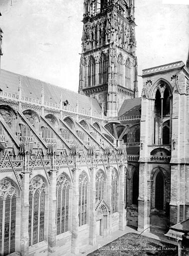 Cathédrale Notre-Dame Façade sud : croisée du transept, Mieusement, Médéric (photographe),