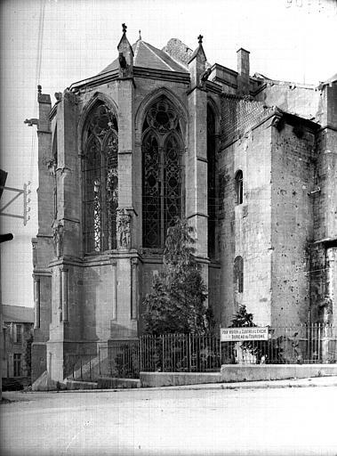 Cathédrale Notre-Dame de l'Assomption Abside au nord, Service photographique,