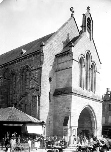 Eglise Saint-Martin Façade ouest, Durand, Eugène (photographe),